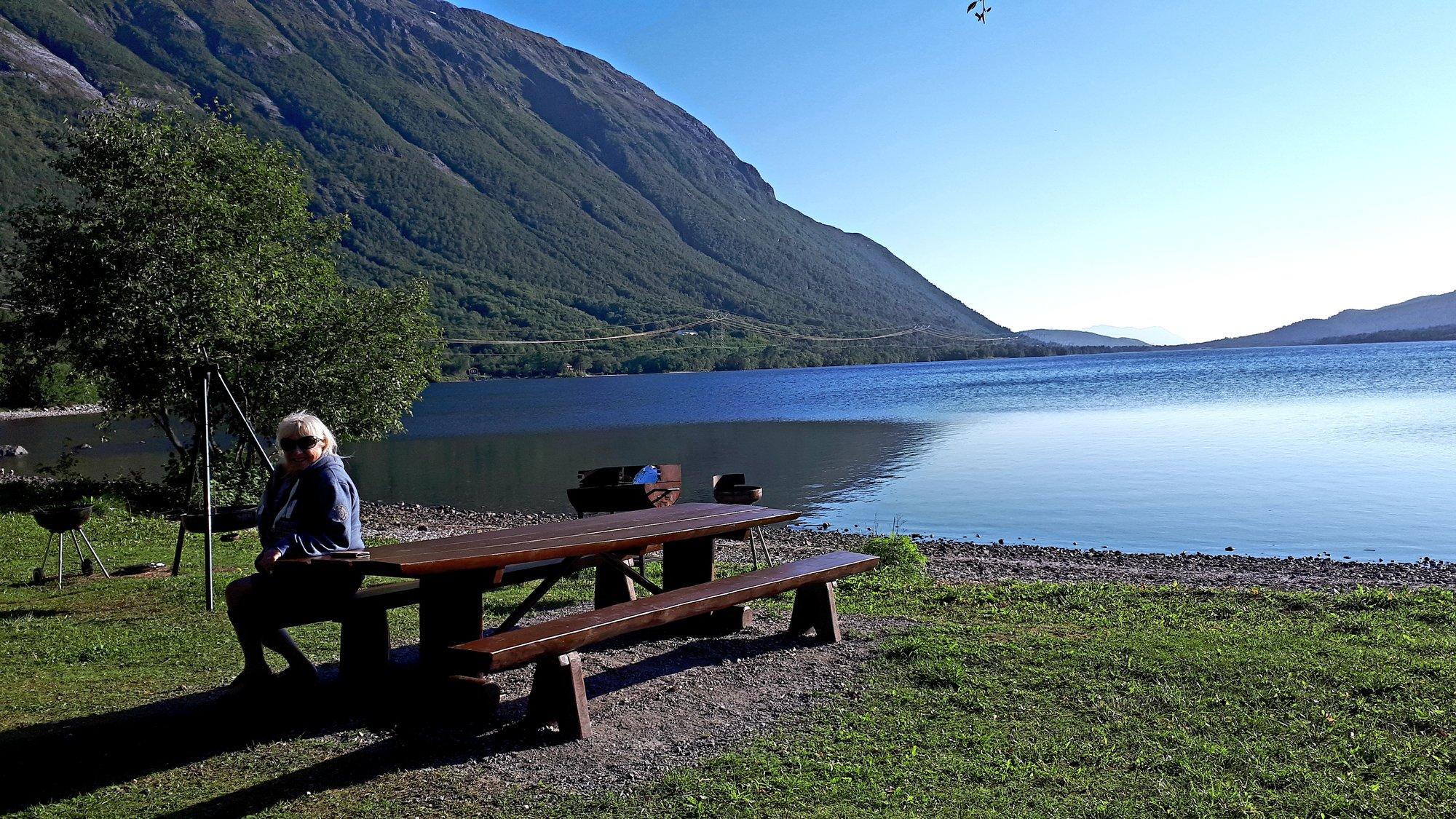 We got away to Norway.   Wild Camping for Motorhomes